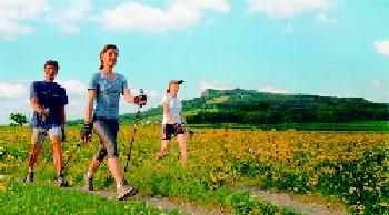 Nordic Walking in Tengen